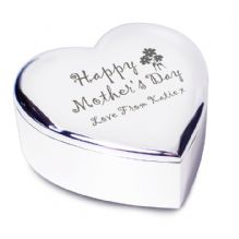 Happy Mother's Day Heart Trinket